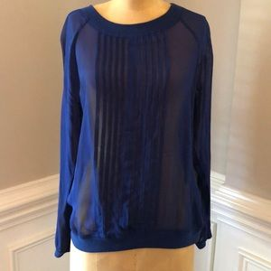 Anthropologie One fine day long sleeve shirt